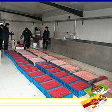 全自动鸭豆腐生产线-毛血旺生产线-加工鸭血豆腐的设备厂家直销图片
