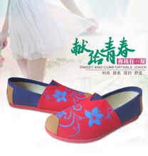 女式浅口单鞋一件大发招商加盟图片