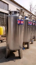 供应优质304不锈钢储存罐白钢酒罐图片