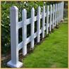 定做PVC护栏塑钢护栏草坪栏绿化栅栏园艺护栏学校花坛池草坪护栏