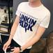 供應2017年最新款夏裝男士圓領修身林肯夏季青少年半袖打底上衣服男裝