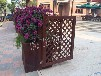 防腐木地板防腐木花箱碳化木花箱