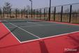 阜阳鸿鑫文体承接硅PU篮球场施工PVC运动地面塑胶跑道环氧地坪