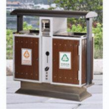 阜阳鸿鑫文体销售环卫垃圾桶钢木垃圾桶铁皮垃圾桶销售价格地址