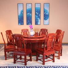 东阳市和谐红木红木家具厂家直销红酸枝家具红木桌子