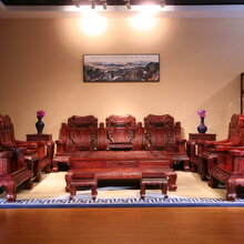 东阳和谐红木厂家直销红木沙发红酸枝沙发组合明氏沙发古典沙发巴里黄檀沙发组合