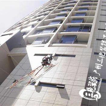 广州高空玻璃维修更换工程-幕墙玻璃安装工程-玻璃安装-外墙维修换胶补漏工程