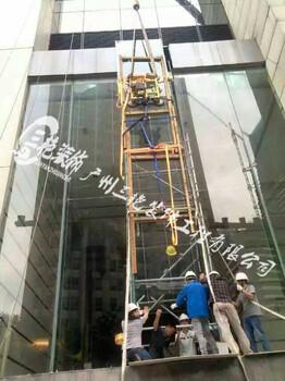 佛山东莞广州幕墙补片维修-广东更换中空玻璃-吊篮更换玻璃胶-幕墙修缮
