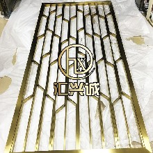 厂家直销简约不锈钢隔断时尚不锈钢屏风不锈钢屏风