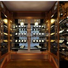 上海不锈钢红酒柜不锈钢展示酒柜青海不锈钢酒架定制