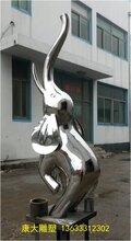 供应不锈钢动物雕塑小象雕塑厂家定制