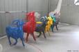 內蒙古康大雕塑供應玻璃鋼動物雕塑熊貓雕塑