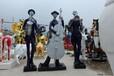 欧式抽象人物乐队雕塑摆件创意玻璃钢摆件康大雕塑