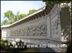 寺庙大型九龙壁雕刻石雕