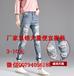 厂家清货大量便宜女士牛仔裤夏季热销新款女装九分裤批发