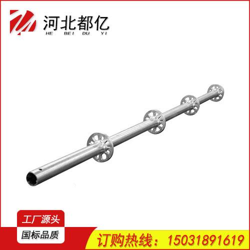 广州地区生产建筑圆盘式脚手架热镀锌盘扣式脚手架厂家