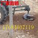 拖拉机后悬挂植树挖坑机硬土质地钻挖坑机视频