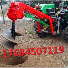 植树种树挖坑机工作范围广果树施肥打洞刨坑机