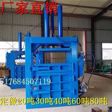 惠州20-80吨立式液压打包机废旧物品再利用压缩机图片