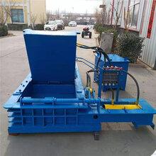 大型120噸金屬壓塊機廢金屬屑壓塊機大油桶壓塊機質量保證圖片