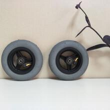 好思达轮椅配件前轮实心胎导向轮多规格多尺寸奥托博克适用