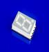 一位白光貼片數碼管0.39英寸貼片數碼管七段顯示器件