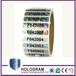 热销售圆形乙烯基安全标签自定义做全息图贴纸