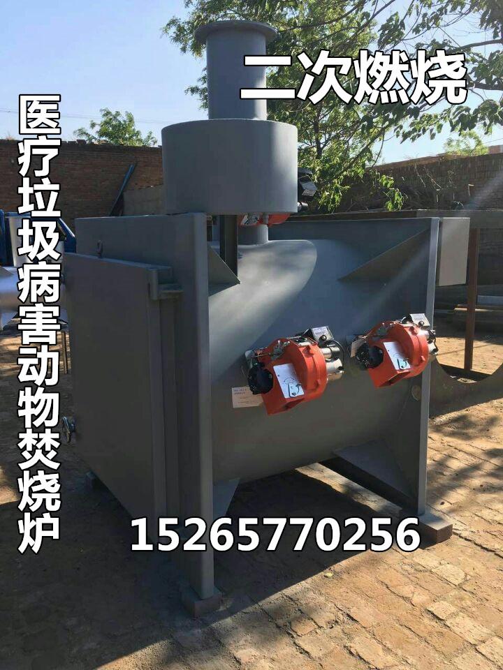 病害动物尸体焚烧炉动物火葬设备政府环保项目专用小型医疗垃圾焚烧炉