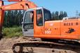 纯土方日立230-6挖掘机,工地干活机