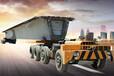 自主研發專利200T輪胎式運梁車