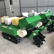35马力施肥机自走式履带开沟施肥机厂家多功能管理机报价图片