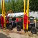 液压护栏打桩机小四轮护栏打桩机公路护栏打桩机