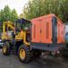 装载式护栏打桩机空压机一体机公路岩石钻孔机质保一年