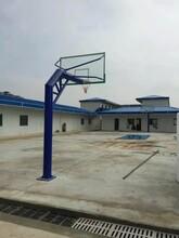 圆管固定式篮球架固杰篮球架供应