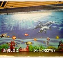 壁画,墙体绘画,墙绘,立体画图片