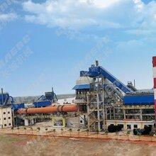 石灰生产线日产300吨活性石灰生产线厂家新乡长城石灰线投资收益图片