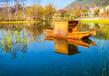 哪里有景區手劃船公園水庫旅游船觀光船生產廠家