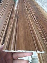 深圳实木护墙板松木免漆护墙板PVC包覆欧式图片