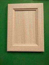 南宁免漆多层柜门板实木包覆衣柜线板同色灰布纹图片