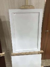 贛州實木免漆柜門板包覆多層門芯板衣柜同色線板配件圖片
