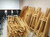 上海松木画架_胡桃色1.45米木质画架_展架出租零售