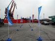 上海注水旗杆出租图片