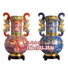 福禄平安尊景泰蓝珍藏品张向东大师作品工艺品收藏