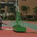 广西玉林电动液压篮球架优格YG-106钢化透明玻璃篮球架批发
