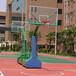 广西北海标准户外篮球架优格YG-108专业比赛篮球架厂家直销