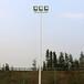 海南标准篮球场镀锌灯杆优格YG-238方形球场灯杆锥形灯柱厂家直销