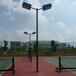 西藏户外8米篮球场灯杆厂家优格YG-253球场灯杆定制设计安装