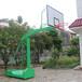 毕节户外球场篮球架颜色优格移动式仿液压篮球架厂家供应