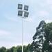 沈阳户外篮球场镀锌灯杆图片优格专注室外球场灯杆厂家直销