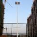 阜新室外球场灯光照明厂家优格两节式镀锌灯杆锥形灯杆供应